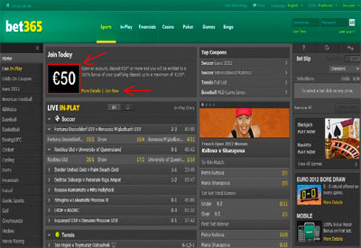 How to open / register an account at Bet365